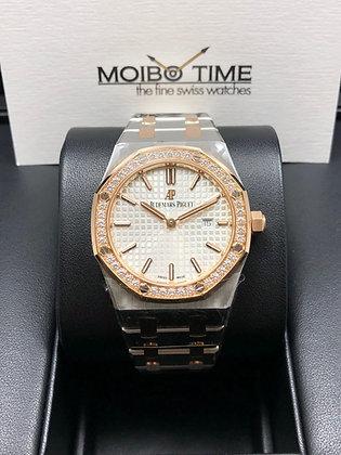 Audemars Piguet Royal Oak Lady Quartz 18K Pink Gold Steel 67651SR