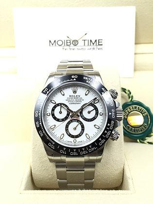 Rolex Cosmograph Daytona 116500LN Steel White Dial Ceramic