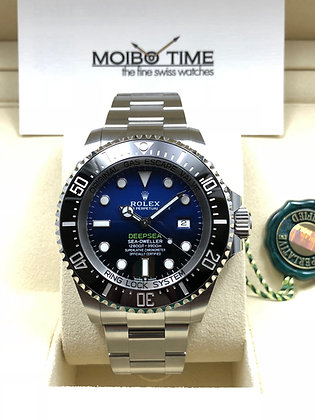 Rolex Black Deepsea 126660 D-Blue