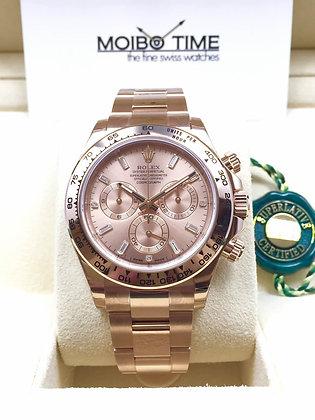 Rolex Cosmograph Daytona 18k Rose Gold 116505