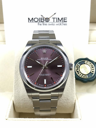 Rolex Oyster Perpetual Red Grape 114300