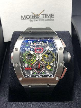 Richard Mille RM11-02 Ti Titanium GMT Flyback Chronograph