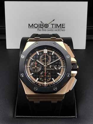 Audemars Piguet Royal Oak Offshore 18K Pink Gold Chronograph 26401RO