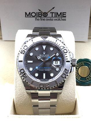 Rolex Yacht Master Dark Rhodium Grey 40mm 116622