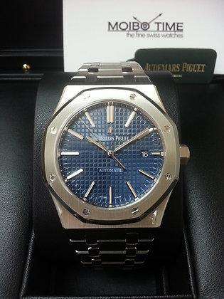 Audemars Piguet Royal Oak Selfwinding Steel Blue 15400ST.OO.1220ST.03