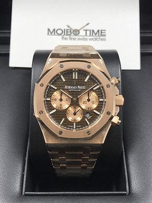 Audemars Piguet Royal Oak Chronograph 18ct Pink Gold 26331OR