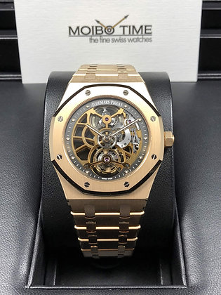 Audemars Piguet Royal Oak Extra-Thin Tourbillon Openworked 26518OR.OO.1220OR.01