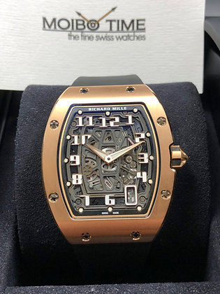 Richard Mille 18ct Red Gold Automatic Extra Flat RM67-01