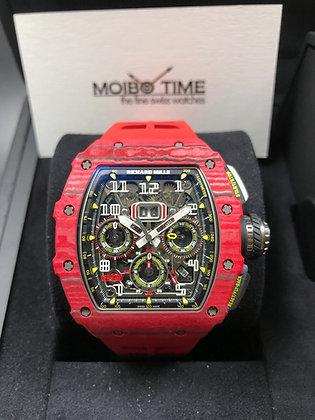 Richard Mille RM11-03 Red Quartz Flyback Chronograph QTPT