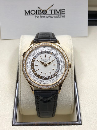 Patek Philippe 18ct Rose Gold World Time 7130R-011