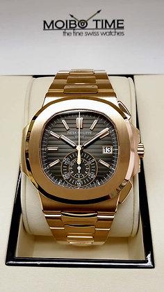 Patek Philippe 18ct Rose Gold Nautilus Chronograph 5980/1R-001