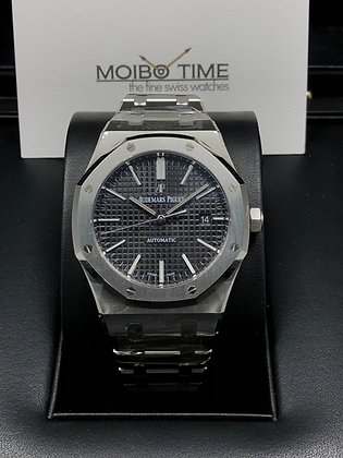Audemars Piguet Royal Oak Selfwinding Steel Black 15400ST.OO.1220ST.03