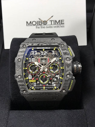 Richard Mille RM11-03 Black Carbon Flyback Chronograph NTPT