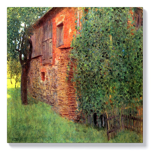 Густав Климт - Селска къща в Атерзее