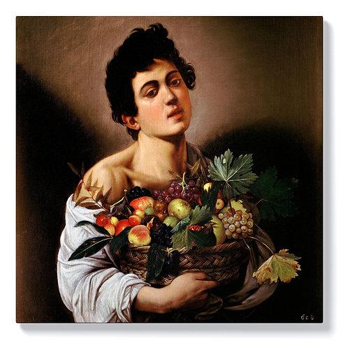 Караваджо - Момче с кошница плодове