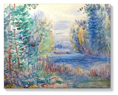 Реноар - Речен пейзаж
