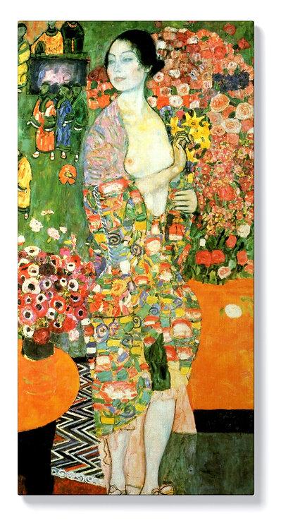 Густав Климт - Жена с цветя