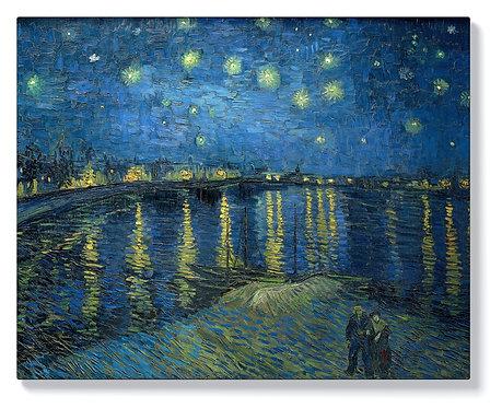 Винсент ван Гог - Звездна нощ над Рона