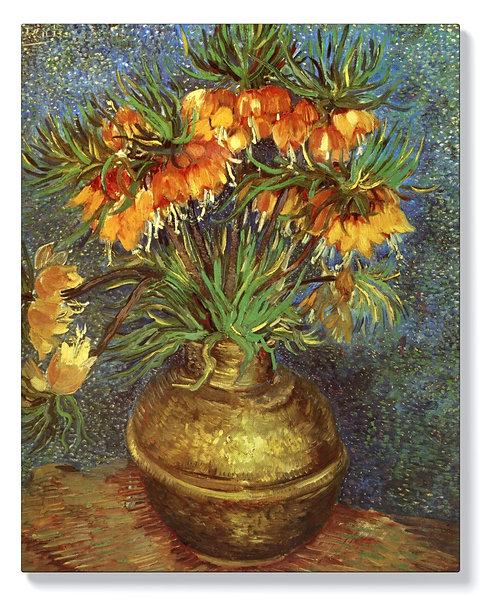 Винсент ван Гог - Фритиларии в медна ваза