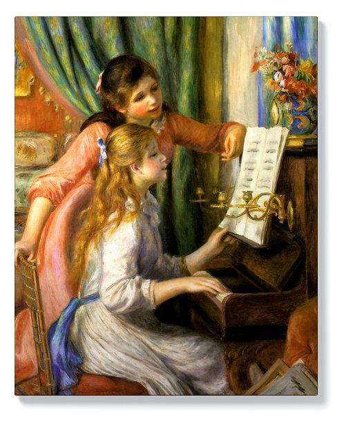 Пиер Огюст Реноар - Момичета с пиано
