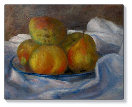 Реноар - Ябълки и круши