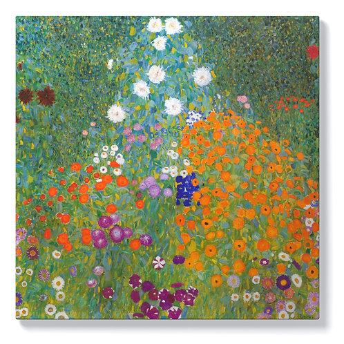 Густав Климт - Градина с цветя