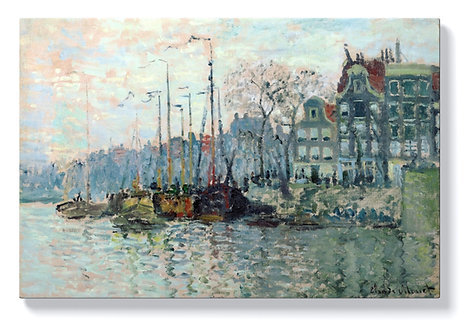 Клод Моне  - Гледка от Кроме Ваал в Амстердам