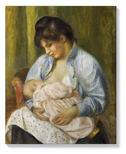 Пиер-Огюст Реноар - Кърмеща жена