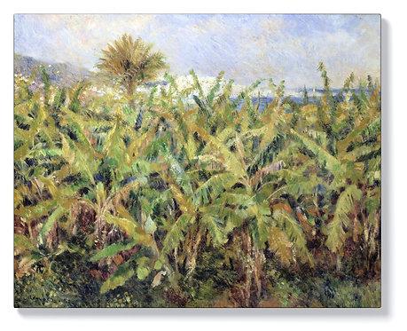 Реноар - Поле с бананови дървета