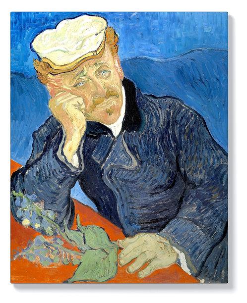 Ван Гог - Портрет на доктор Пол Гаше
