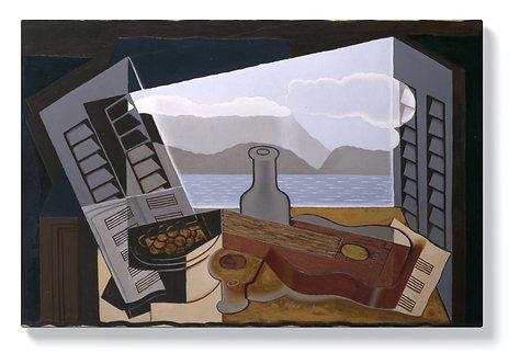 Хуан Грис - Отворен прозорец