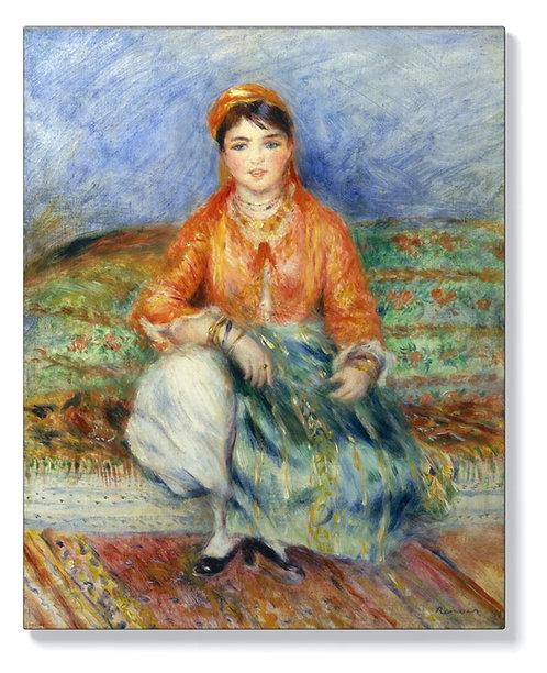 Реноар - Алжирско момиче