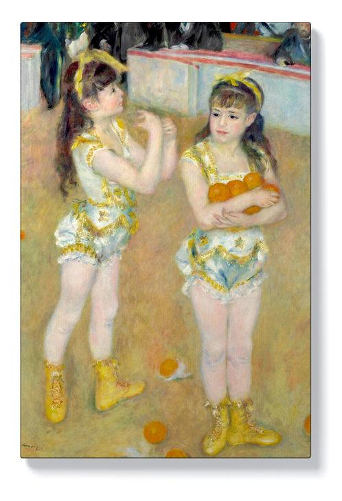Реноар - Акробати в цирк Фернандо
