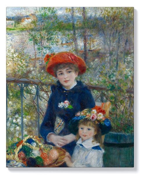 Пиер-Огюст Реноар - Две сестри на терасата
