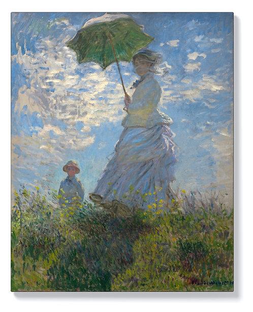 Клод Моне - Жена с чадър
