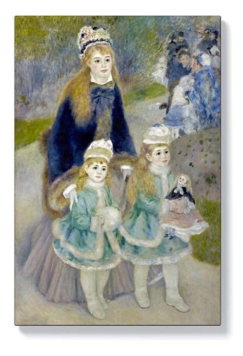 Реноар - Майка с деца