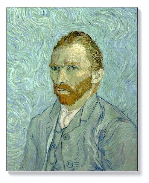 Ван Гог - Автопортрет 3