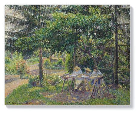 Камий Писаро – Деца на маси в градината на Ерани