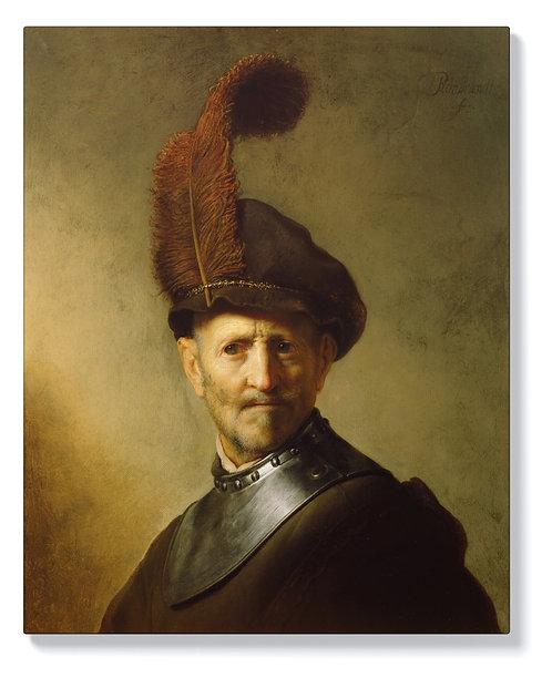 Рембранд - Мъж във военен костюм
