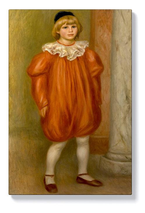 Реноар - Клод Реноар в костюм на клоун
