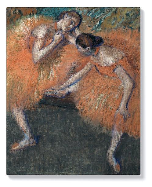 Eдгар Дега - Две Танцьорки 2