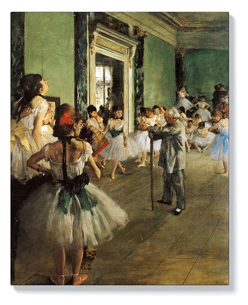 Едгар Дега - Урок по танци