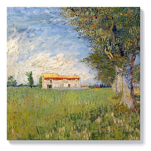 Винсент ван Гог - Ферма в житните полета