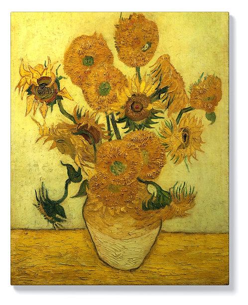 Ван Гог - Ваза с 12 слънчогледа