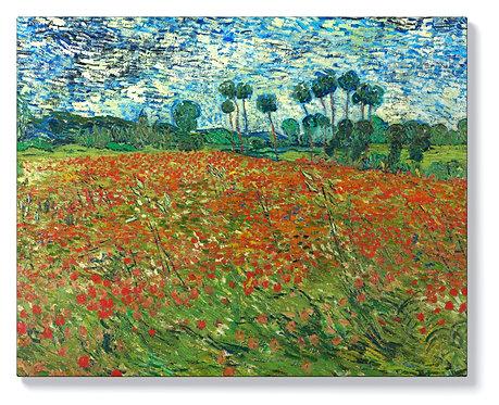Винсент ван Гог - Маково поле