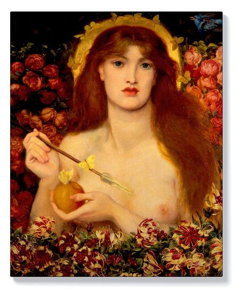 Данте Росети - Венера Вертикордия