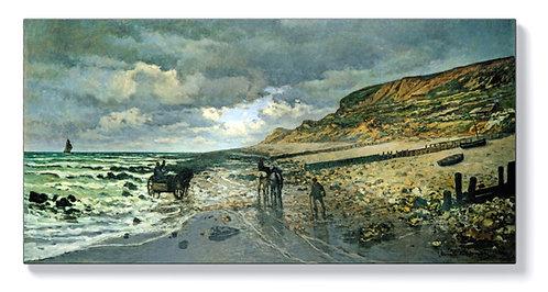 Клод Моне - Брегът на Хеве при отлив