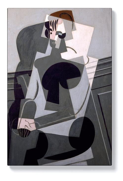 Хуан Грис - Портрет на госпожа Грис