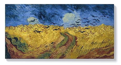 ван Гог - Житни полета с гарвани