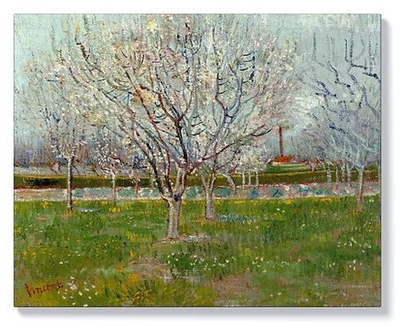 Ван Гог - Овощна градина (сливови дървета)